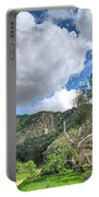 Spring Trail In The Canyon Portable Battery Charger