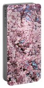 Spring Trees Art Prints Pink Springtime Blossoms Baslee Troutman Portable Battery Charger
