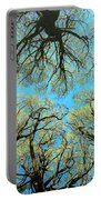 Spring Trees Portable Battery Charger