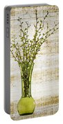 Spring Vase Portable Battery Charger