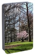 Spring Walk On Campus Portable Battery Charger