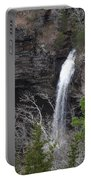 Spring Waterfall At Petit Jean Portable Battery Charger