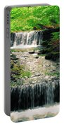 Spring Waterfall Portable Battery Charger