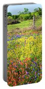 Spring's Floral Quilt Portable Battery Charger