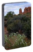 Springtime At Arches Portable Battery Charger