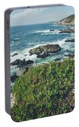 Springtime At Bodega Head Portable Battery Charger