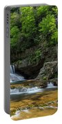 Springtime At Saint Mary's Falls Virginia Portable Battery Charger