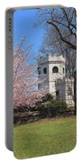 Springtime At The Botanical Garden Portable Battery Charger