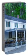 Springtime At The Valley Green Inn Portable Battery Charger
