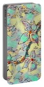 Springtime Blossoms Portable Battery Charger