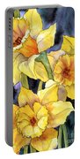 Springtime Daffodils Portable Battery Charger