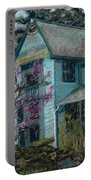 Springtime In Old Town Portable Battery Charger by Mary Benke