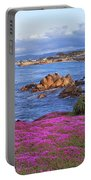 Springtime In Pacific Grove Portable Battery Charger