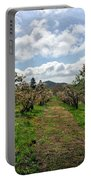 Springtime In The Apple Grove Portable Battery Charger