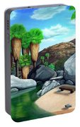 Springtime In The Canyons Portable Battery Charger