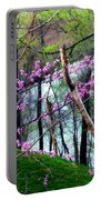 Springtime In The Mountains 2 Portable Battery Charger