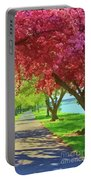Springtime In The Park Portable Battery Charger