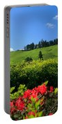 Springtime Landscape Portable Battery Charger