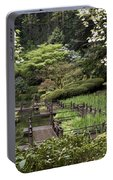 Springtime Walkway Portable Battery Charger