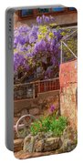 Springtime Wisteria In Old Bisbee Portable Battery Charger