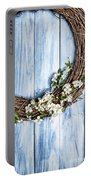 Springtime Wreath Portable Battery Charger
