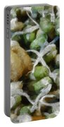 Sprouts And Other Healthy Food Portable Battery Charger