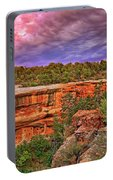 Spruce Tree House At Mesa Verde National Park - Colorado Portable Battery Charger