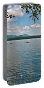 Squam Lake In New Hampshire   Portable Battery Charger