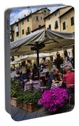 Square Amphitheater In Lucca Italy Portable Battery Charger
