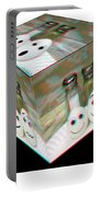 Square Meal - Use Red-cyan 3d Glasses Portable Battery Charger