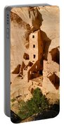 Square Tower Ruin Portable Battery Charger
