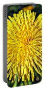 Square Yellow Dandelion Portable Battery Charger