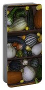 Squash And Gourds In Compartments Portable Battery Charger