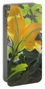 Squash Blossom Portable Battery Charger