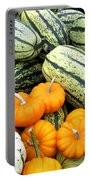 Squash Harvest Portable Battery Charger by Will Borden
