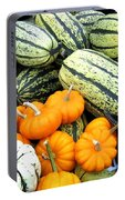 Squash Harvest Portable Battery Charger