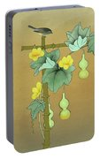 Squash Vine And Bamboo Portable Battery Charger