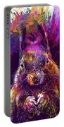 Squirrel Animals Possierlich Nager  Portable Battery Charger