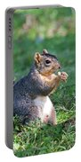 Squirrel Eating A Nut - Eugene Oregon Portable Battery Charger