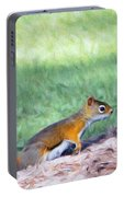 Squirrel In The Park Portable Battery Charger