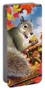 Squirrel Treasure Portable Battery Charger