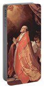 St Andrew Corsini In Prayer 1635 Portable Battery Charger