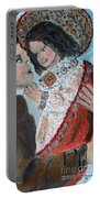 St. Anthony In Amazement Portable Battery Charger