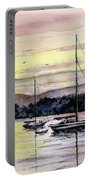 St. Augustine Boats Portable Battery Charger by Sam Sidders