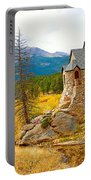 St. Catherine's Church In Autumn Portable Battery Charger