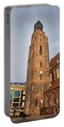 St. Elizabeth's Church Tower In Wroclaw Portable Battery Charger