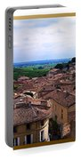 St. Emilion View Portable Battery Charger by Joan  Minchak