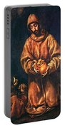 St Francis And Brother Rufus 1606 Portable Battery Charger