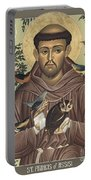 St. Francis Of Assisi - Rlfoa Portable Battery Charger