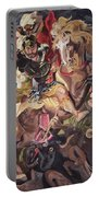 St George And The Dragon Portable Battery Charger
